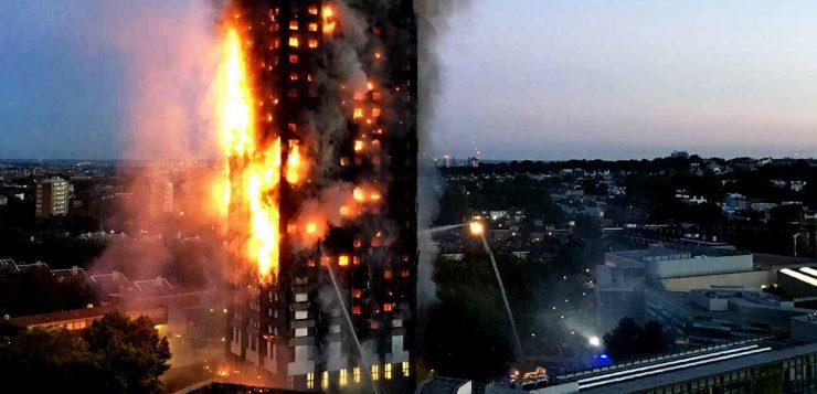 Londres : un incendie dans une tour d'habitation fait de nombreuses victimes