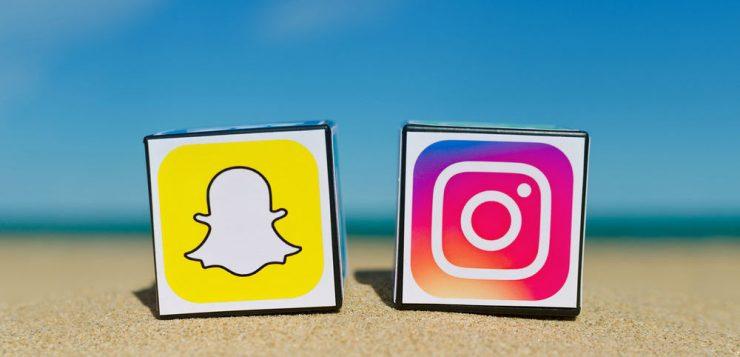 Les réseaux sociaux copient snapchat