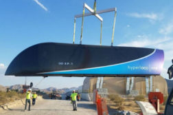 Hyperloop Train à grande vitesse